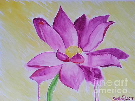 Purple Lily by Karleen Kareem