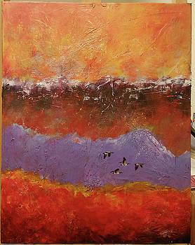 Purple Mountain Flight by David Maynard