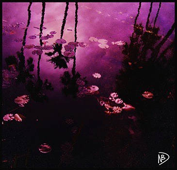Purple Palms by Nicole Dumond-Barry