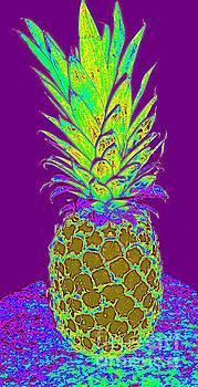 Purple Pineapple by Jeanne Forsythe