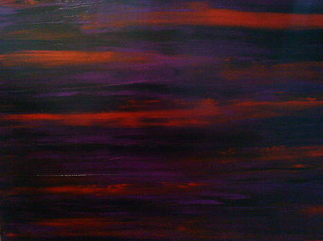Purple Red Lust by Portland Art Creations