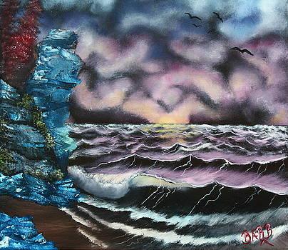 Purple Rising by Barbara Teller