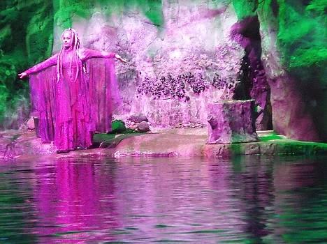 Purple Siren by Anna Villarreal Garbis