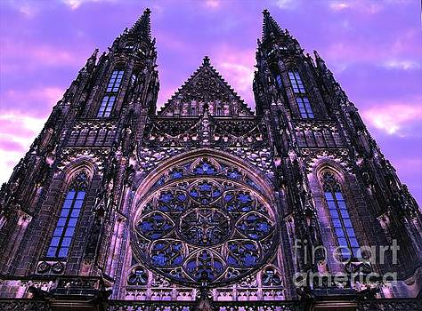 Purple Sky Church by Don Kenworthy