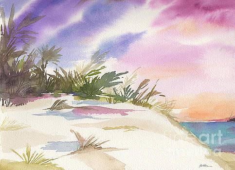 Purple Sky, White Sands by Sheila Golden