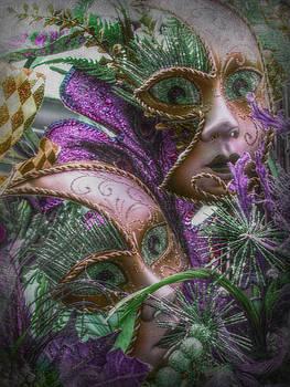 Purple Twins by Amanda Eberly-Kudamik