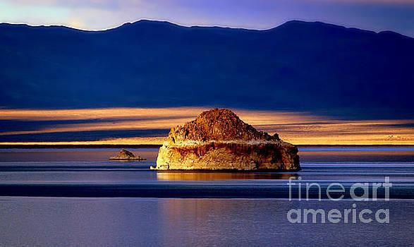 Pyramid Lake Nevada by Irina Hays