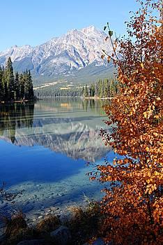 Larry Ricker - Pyramid Mountain Reflection 2