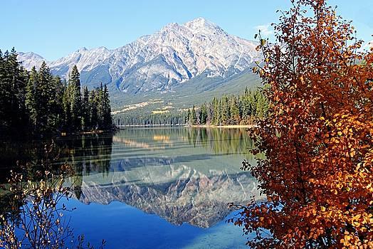 Larry Ricker - Pyramid Mountain Reflection 3