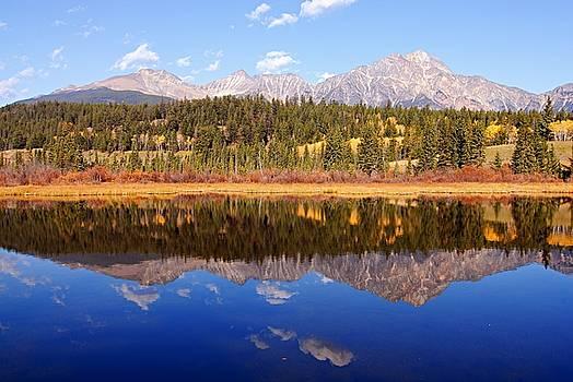 Larry Ricker - Pyramid Mountain Reflection