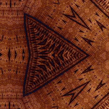 Pyrographic Patterns by Mark Eggleston