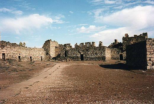 Qasr Azraq Blue Fortress by David Holt
