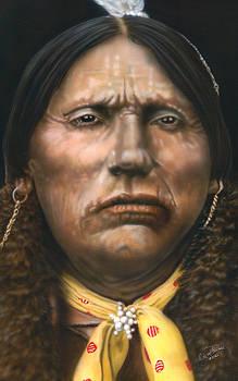 Quanaha Parker by Wayne Pruse