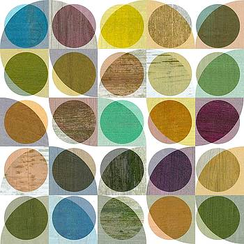 Michelle Calkins - Quarter Circles Layer Project One