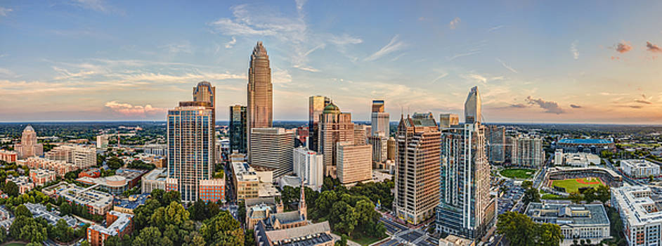 Queen City Pano by Chris Austin