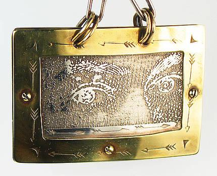 Queen Elizabeth's Eyes Pendant by Virginia Vivier