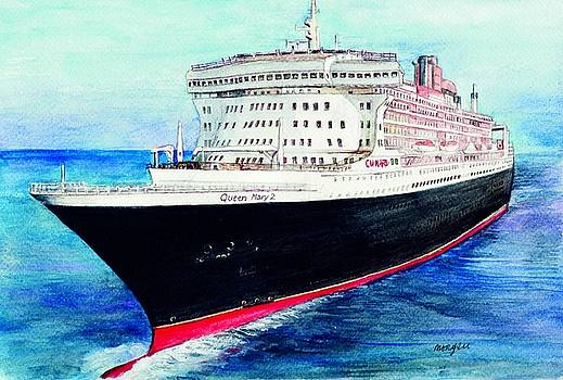 Queen Mary 2 by Morgan Fitzsimons