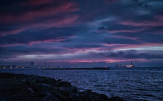 Queens Bay Sunrise by Joseph Hollingsworth