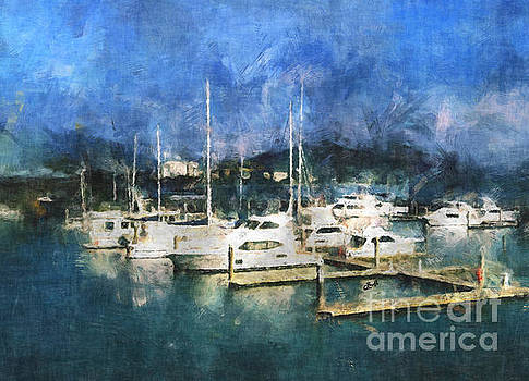 Queensland Marina by Claire Bull