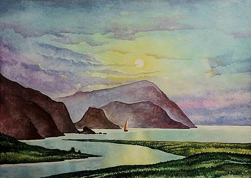 Quiet landscape by Alexander Dudchin