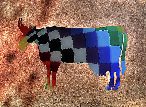 Quilted Bull by Guy Harnett