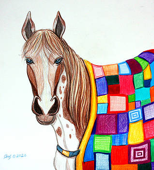 Nick Gustafson - Quilted Stallion