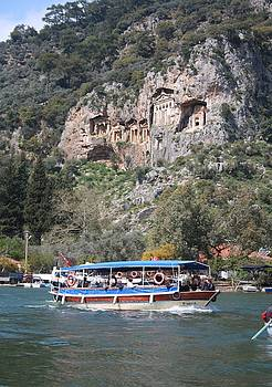 Tracey Harrington-Simpson - Quintessentially Dalyan River Boats and Rock Tombs