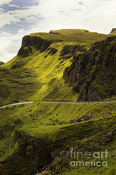 Quiraing on isle of skye Scotland by Isabel Poulin