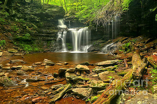 Adam Jewell - R B Ricketts Canyon Waterfall