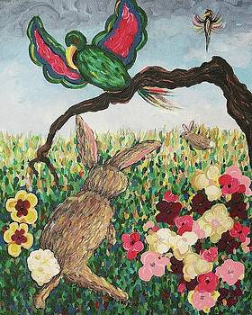 Suzanne  Marie Leclair - Rabbit with Broken Leg