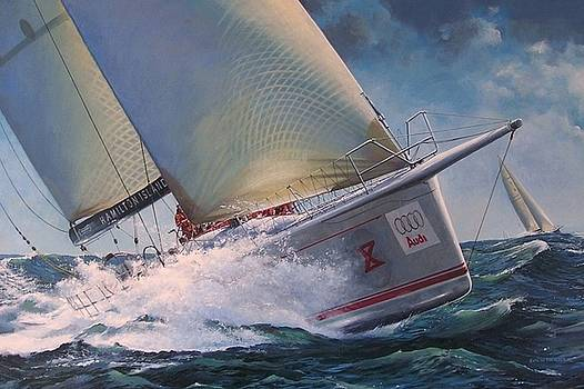 Race to the Finish - Wild Oats X by Colin Parker