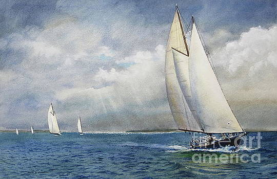 Racing The Wind by Karol Wyckoff