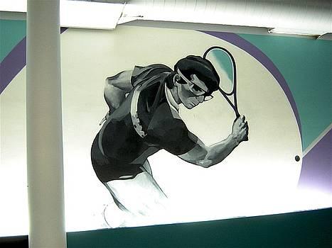 Racquetball detail by Tim  Heimdal