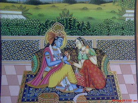 Radha - Krishna by Ravi Kumar