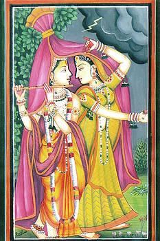 Radha-krashn by Ravi Kumar