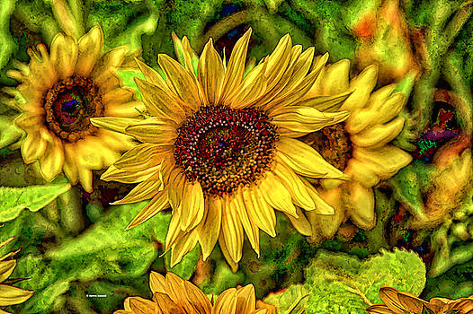 Radiate Love to The World by Dennis Baswell