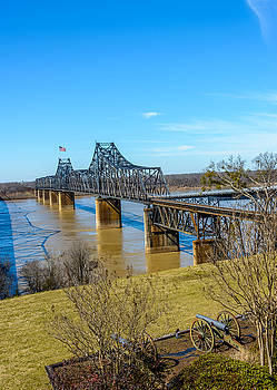 Rail Road Bridge by Jerry Cahill