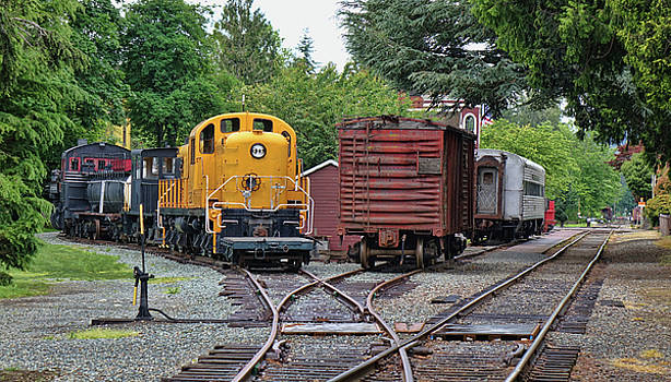 Rail Yard by Rick Lawler
