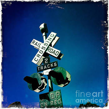 Railroad Crossing by Nina Prommer