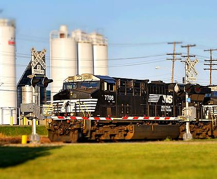 Railroad Crossing by Rodney Williams
