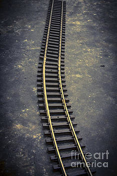 BERNARD JAUBERT - Railway toy tracks line