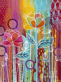 Raindrops  by Carla Bank