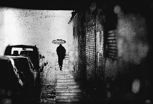 Rain in Berlin by Frank Andree