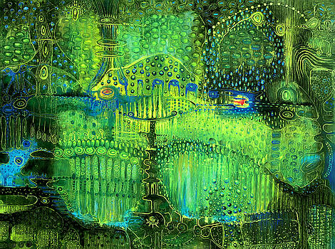 Rain Land II by Lolita Bronzini
