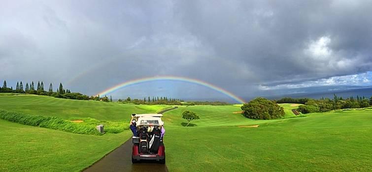 Rainbow at Kapalua by Stacia Blase