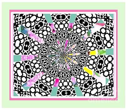 Rainbow Black White by Shirley Moravec