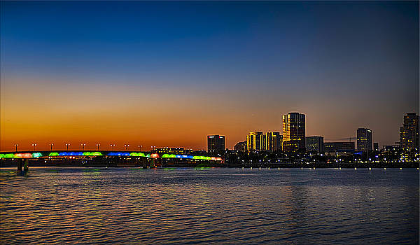 Rainbow Bridge Long Beach by Joseph Hollingsworth
