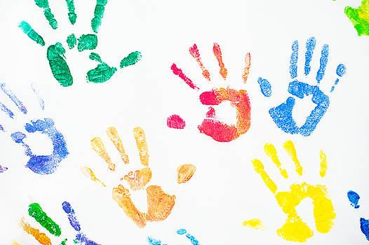 Jenny Rainbow - Rainbow Color Arms Prints 1