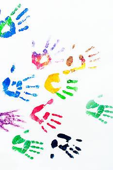 Jenny Rainbow - Rainbow Color Arms Prints