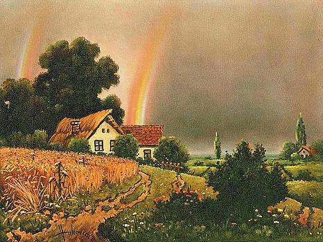 Rainbow by Dusan Vukovic
